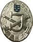 Bewerbsabzeichen Silber